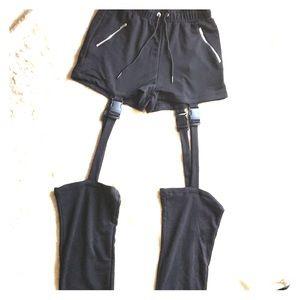 Black holster shorts